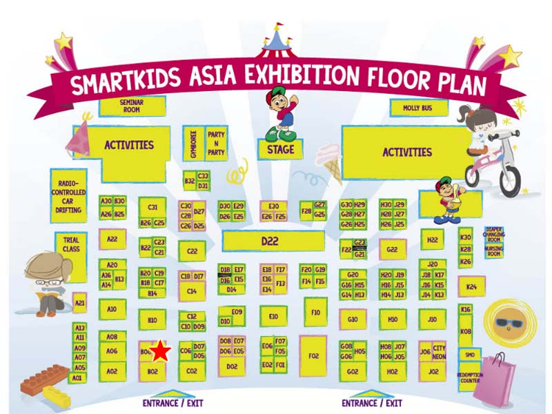 Krtc booth on SmartKids 2014